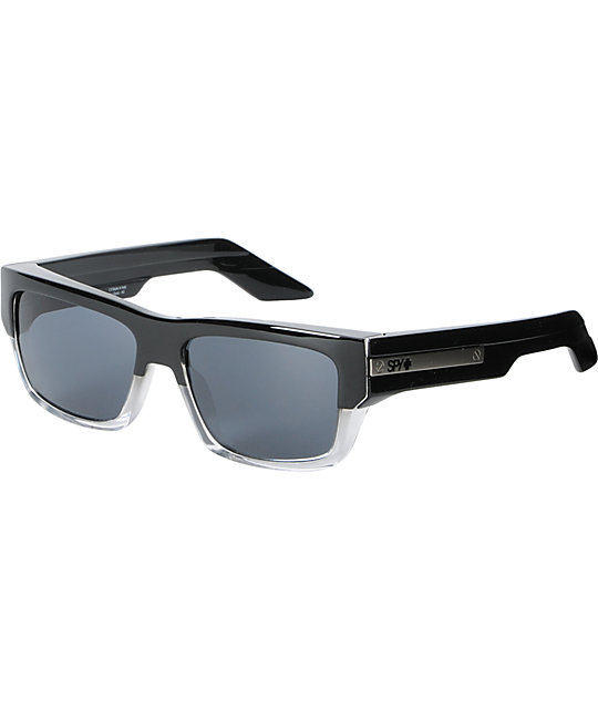Spy Tice Black Smoke Crystal Sunglasses