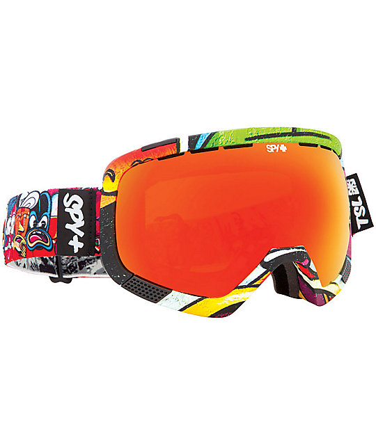 Spy X Seventh Letter X Rime Platoon Snowboard Goggles