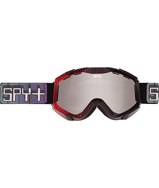 Spy Zed SB Bronze Silver Mirror Snowboard Goggles