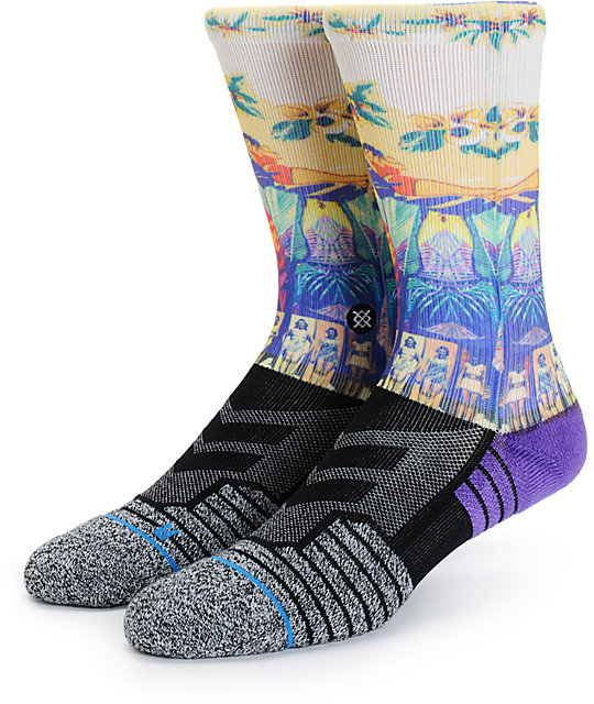 Stance Beach Mashup Athletic Fusion Crew Socks