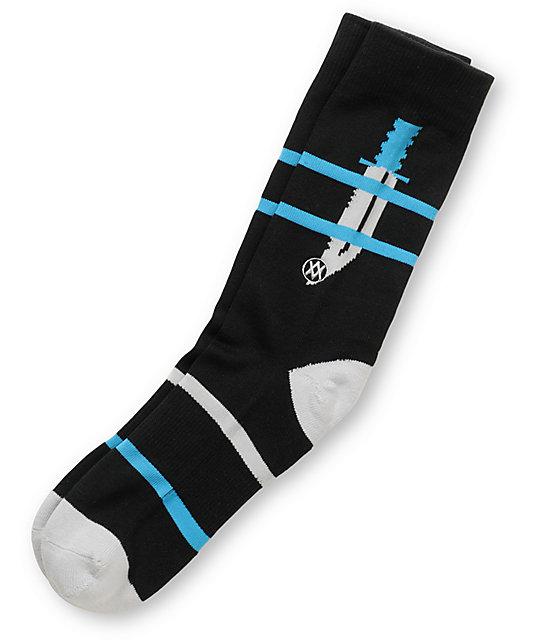 Stance Bowie Black Crew Socks