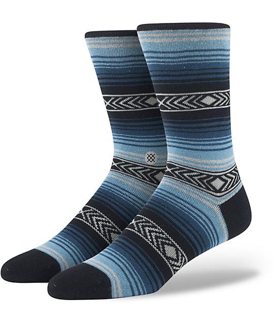 Stance Calexico Blue Stripe Crew Socks