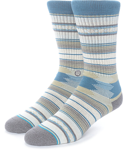 Stance Guadalupe Taupe Crew Socks