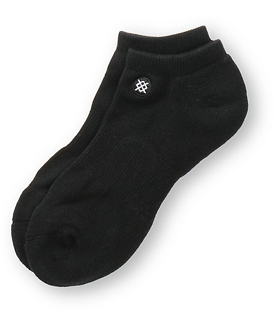 Stance Half Commando Black Ankle Sock