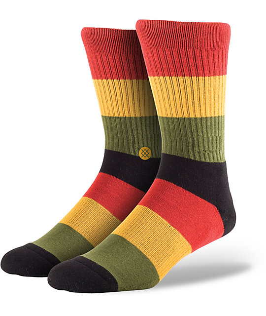 Stance Marcus Rasta Crew Socks