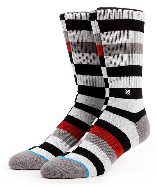 Stance Prescott White Stripe Socks
