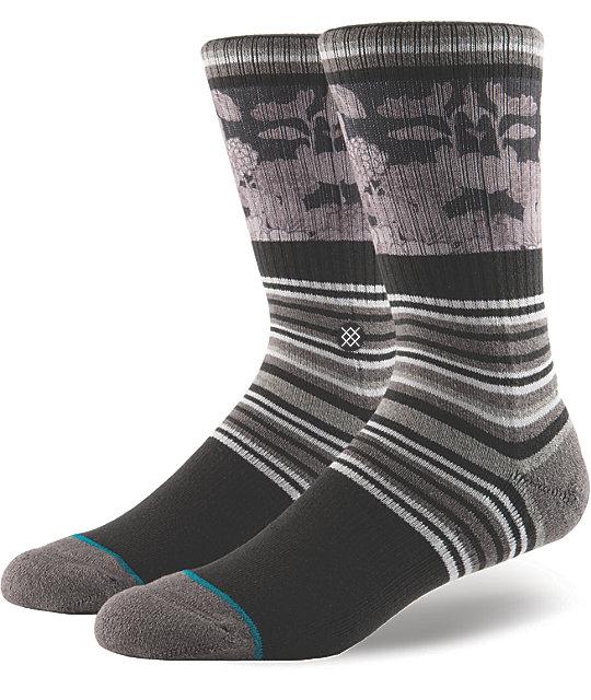 Stance Scenic Charcoal Crew Socks