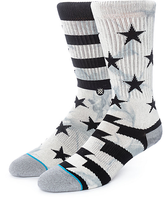 Stance Sidereal Grey Crew Socks