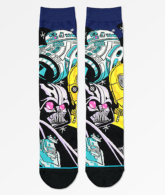 Warped Stance X R2d2 Star Wars Calcetines Negros PZTXiwkluO