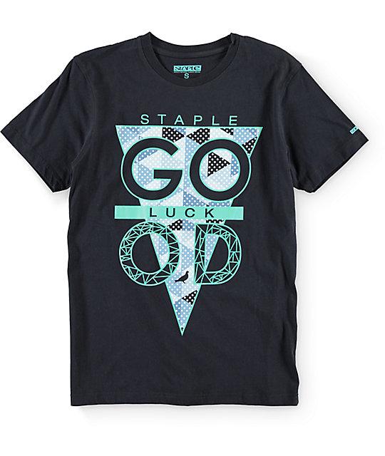 Staple Tri Luck Navy T-Shirt