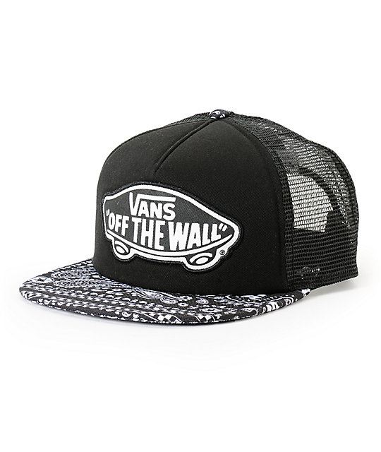 Star Wars x Vans Darth Bandana Print Trucker Hat