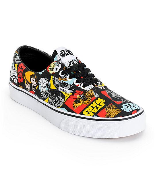 Star Wars x Vans Era Classic Repeat Skate Shoes (Mens)