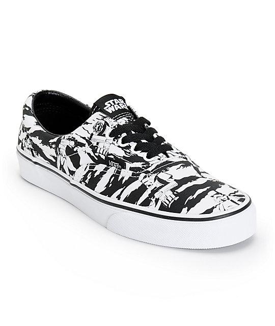 Star Wars x Vans Era Dark Side Storm Camo Shoes