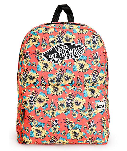 Star Wars x Vans Yoda Floral Backpack