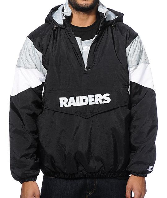 Starter Oakland Raiders Pullover Jacket Zumiez