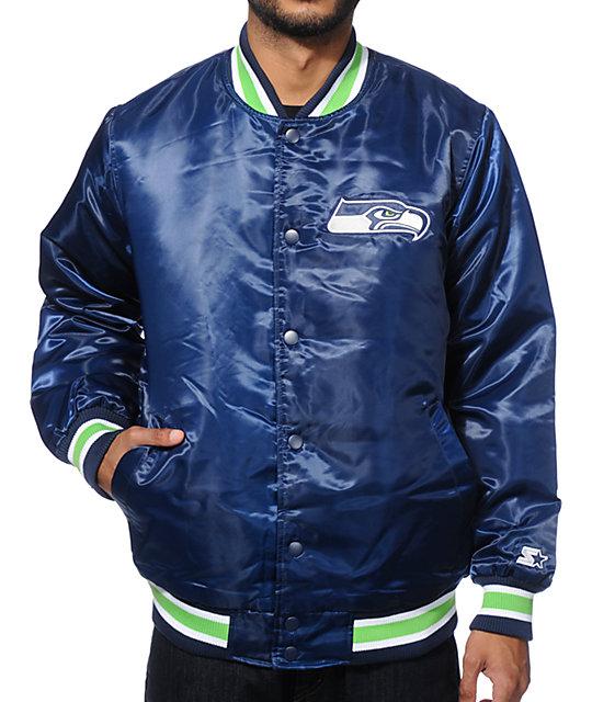 Starter Seattle Seahawks Satin Jacket