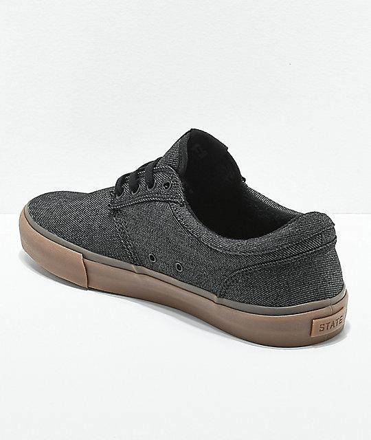 Skate Goma Lienzoamp; State En Gris Zapatos Elgin De wkNOP8n0X