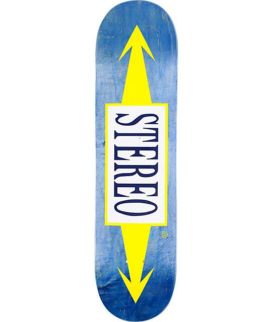 Stereo Arrows Blue 8.1