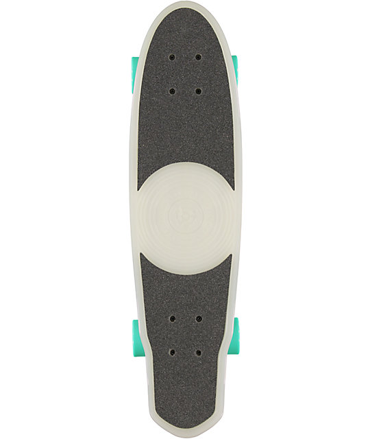 "Stereo EP 27""  Glow In The Dark Cruiser Complete Skateboard"