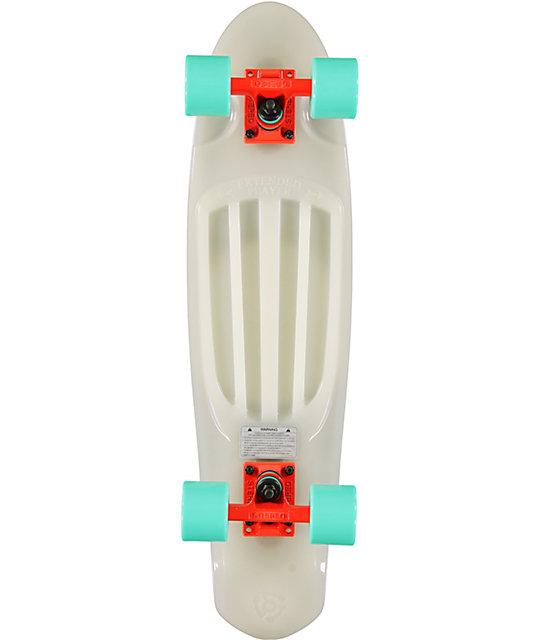 "Stereo EP 27""  Glow In The Dark Cruiser Complete Skateboard"