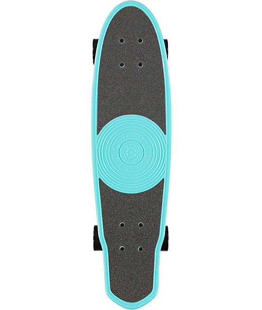 "Stereo EP 27""  Tiffany Blue Cruiser Complete Skateboard"