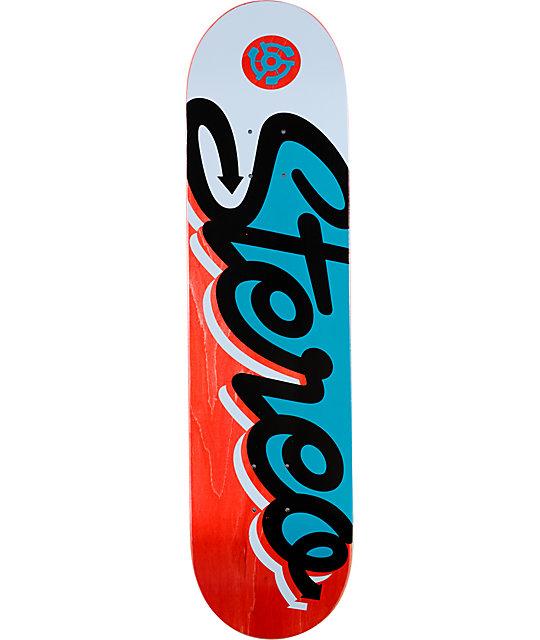 "Stereo Script 8.0""  Skateboard Deck"