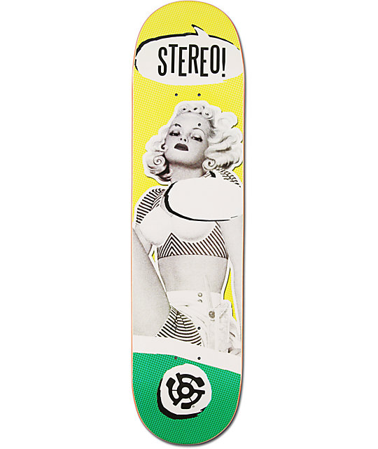 "Stereo Speechless 8.0""  Skateboard Deck"