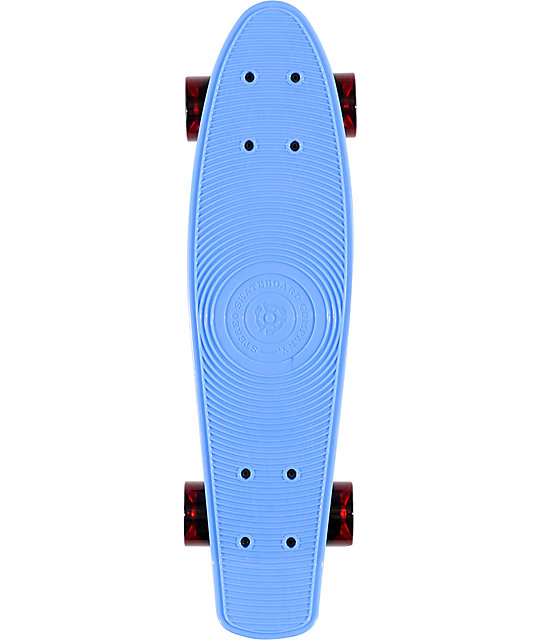 Stereo Vinyl Cruiser Blue 22 5 Quot Complete Cruiser Board