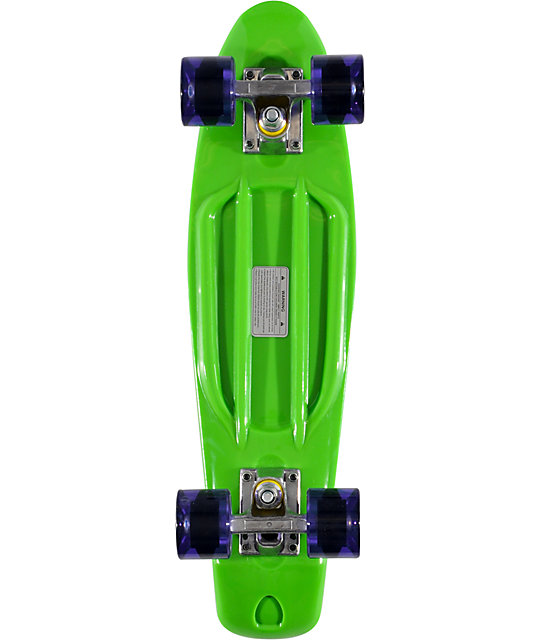 Stereo Vinyl Cruiser Green 22 5 Quot Complete Cruiser Board