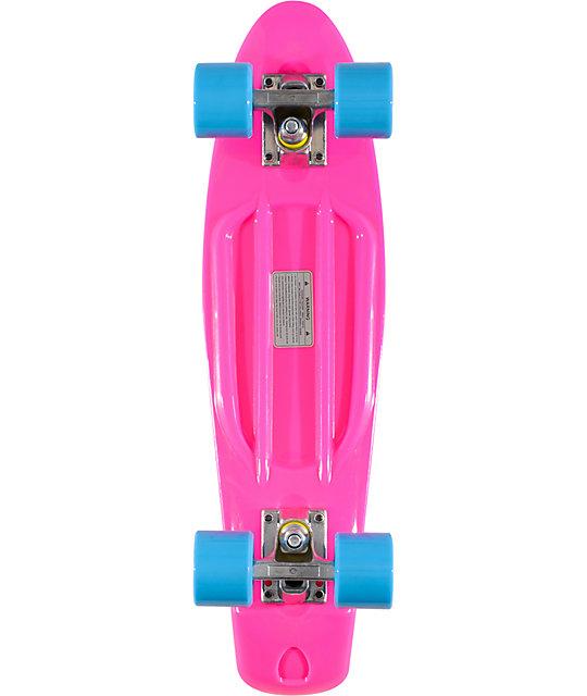 "Stereo Vinyl Cruiser Pink 22.5""  Complete Cruiser Board"