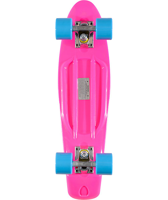 Stereo Vinyl Cruiser Pink 22 5 Quot Complete Cruiser Board At