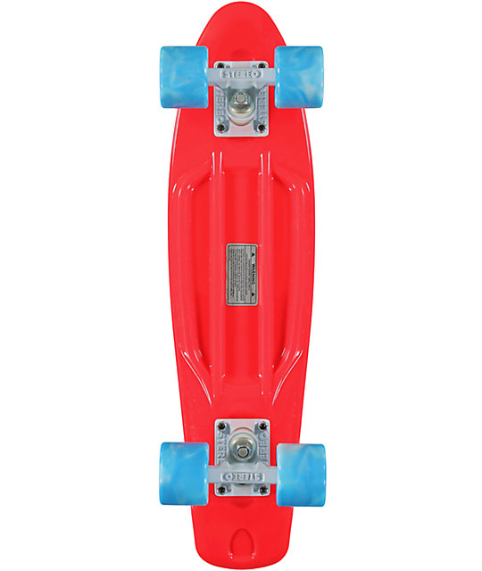 Stereo Vinyl Cruiser Red & Blue 22.5