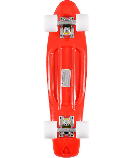 Stereo Vinyl Cruiser Red 22 5 Quot Complete Cruiser Board Zumiez