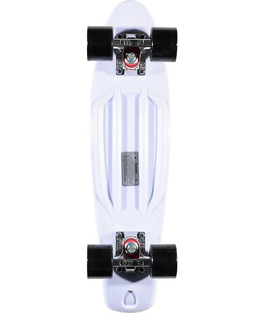 """Stereo x I Love Boobies White Vinyl 22.5""""  Cruiser Complete Skateboard"""