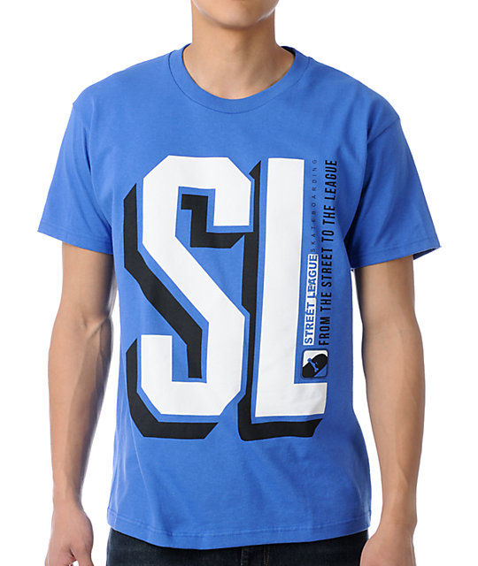 Street League College Blue T-Shirt