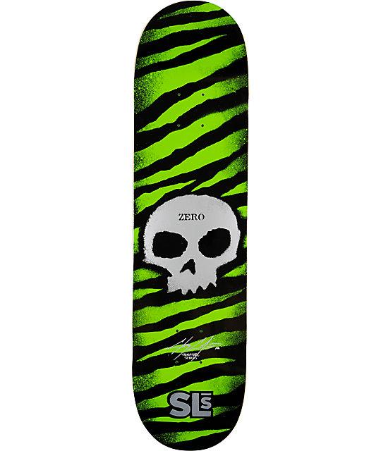 """Street League Skateboarding x Zero Cole Skull 8.0""""  Skateboard Deck"""