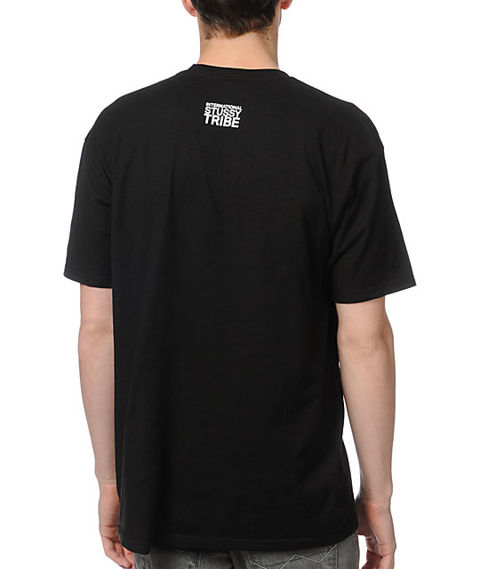 Stussy Global Black T-Shirt