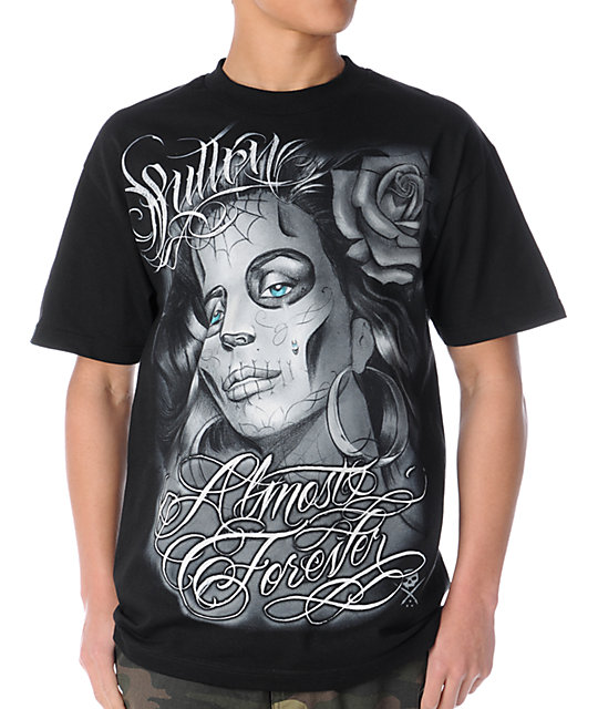 Sullen Almost Forever Black T-Shirt
