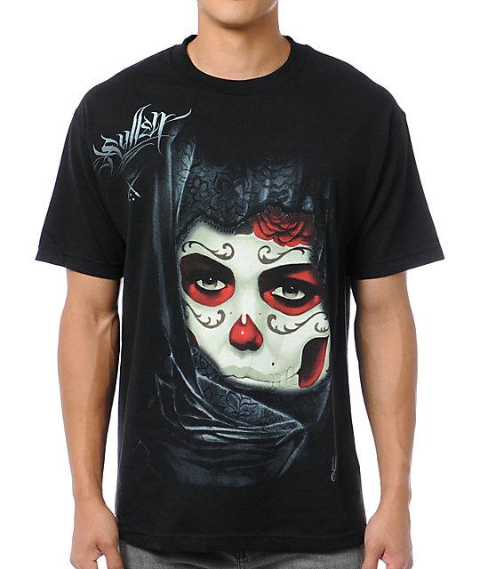 Sullen Gustavo Black T-Shirt