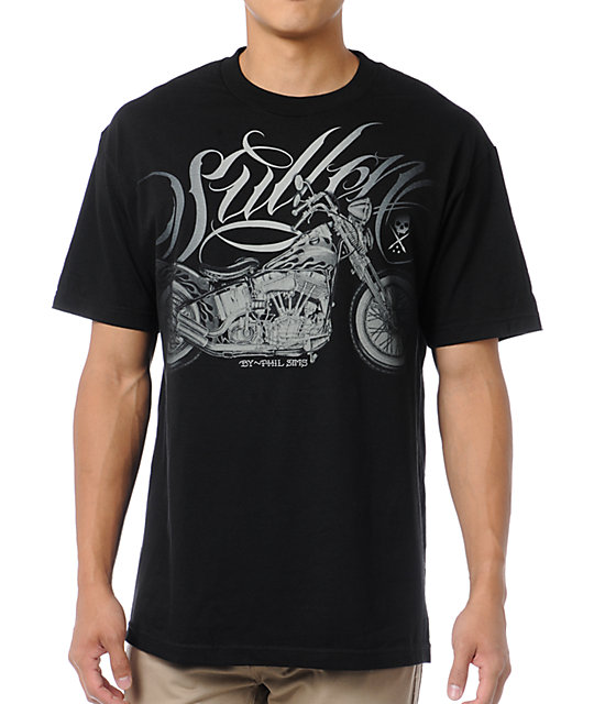 Sullen Pan Head Black T-Shirt