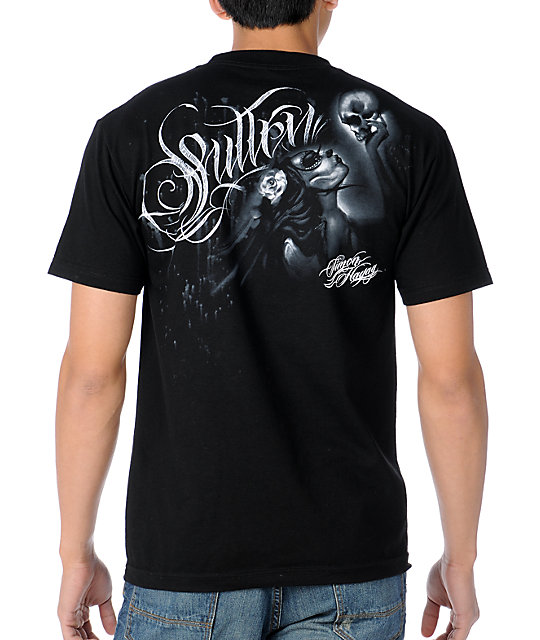 Sullen Whisper Black T-Shirt