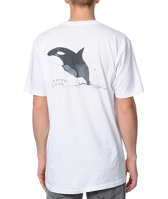 Summer T-Shirt Shamoo Shamoo White T-Shirt