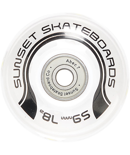 Sunset Flare 59mm LED Cruiser Wheels