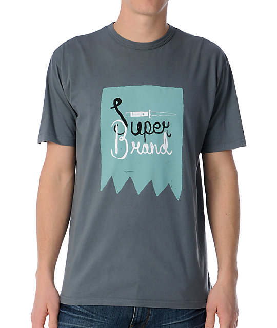 Super Brand Super Quality Grey T-Shirt