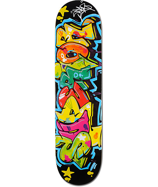 "Superior Cope 2 Wild 8.0""  Skateboard Deck"
