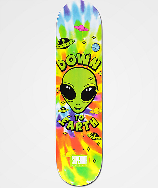 superior down to earth 775quot skateboard deck