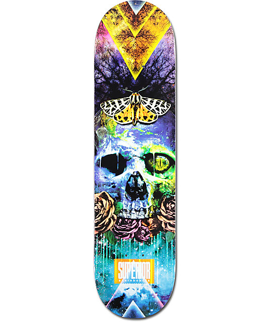 "Superior Earth 8.0""  Skateboard Deck"