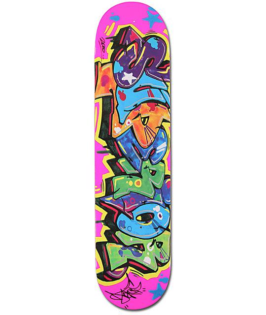 "Superior Graffiti 7.5""  Skateboard Deck"