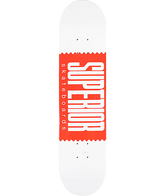 "Superior Logo Wrap 7.5""  Skateboard Deck"