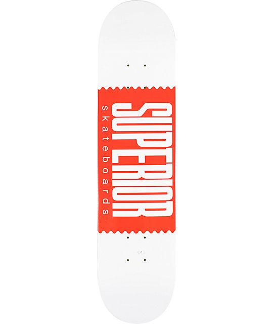 "Superior Logo Wrap 7.5""  Skateboard Deck"
